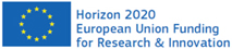 Logo Horizon 2020 European Union Funding for Research and Innovation